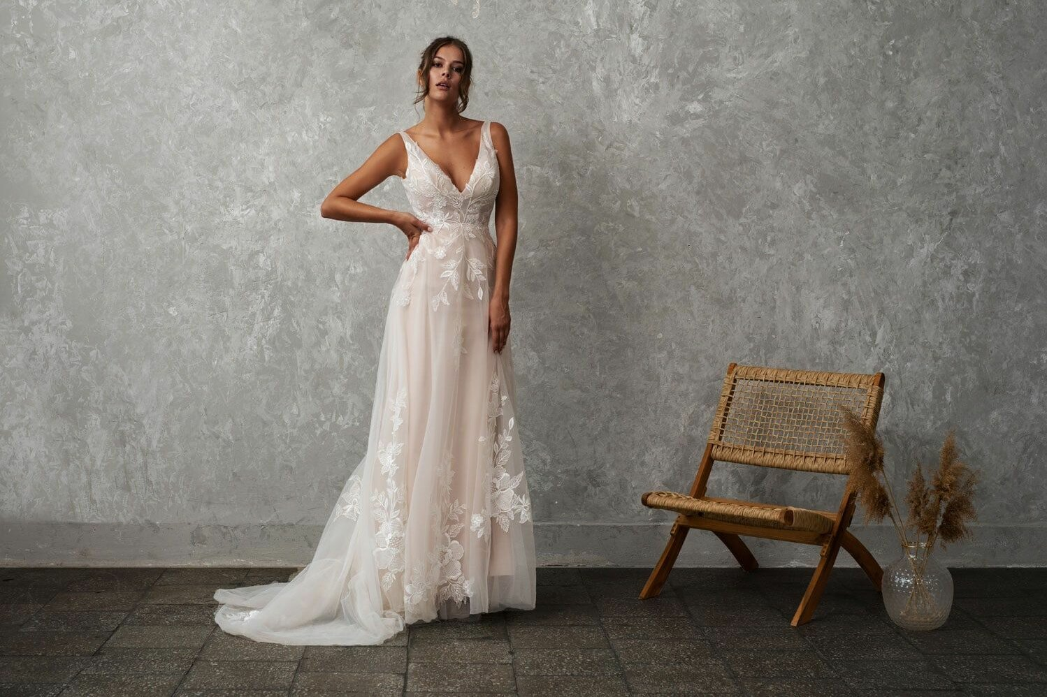 postpartum wedding dress shopping