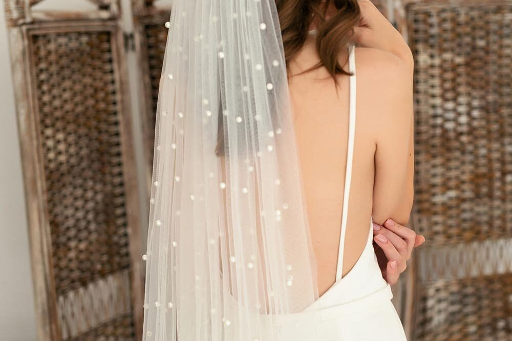 boho wedding dress minimalist wedding dress crepe low back 12