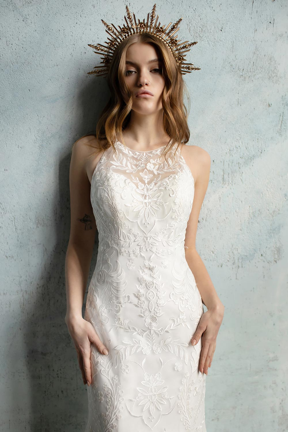bridal shop near me wedding dress shop near me boho wedding dress high neck wedding dress 14