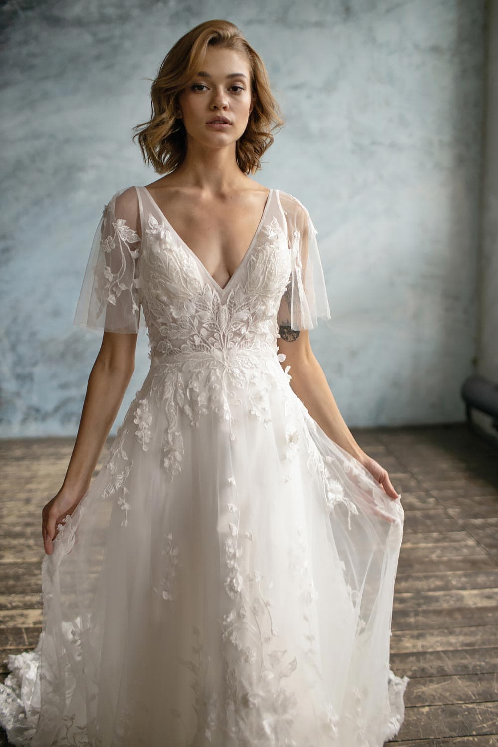 boho wedding dress uk