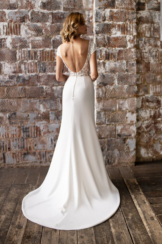 wedding dress detachable skirt wedding dress with detachable skirt crepe wedding dress with overskirt 10 1