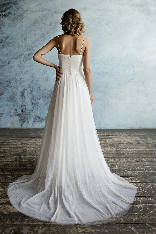 Wedding Dress With Trains
