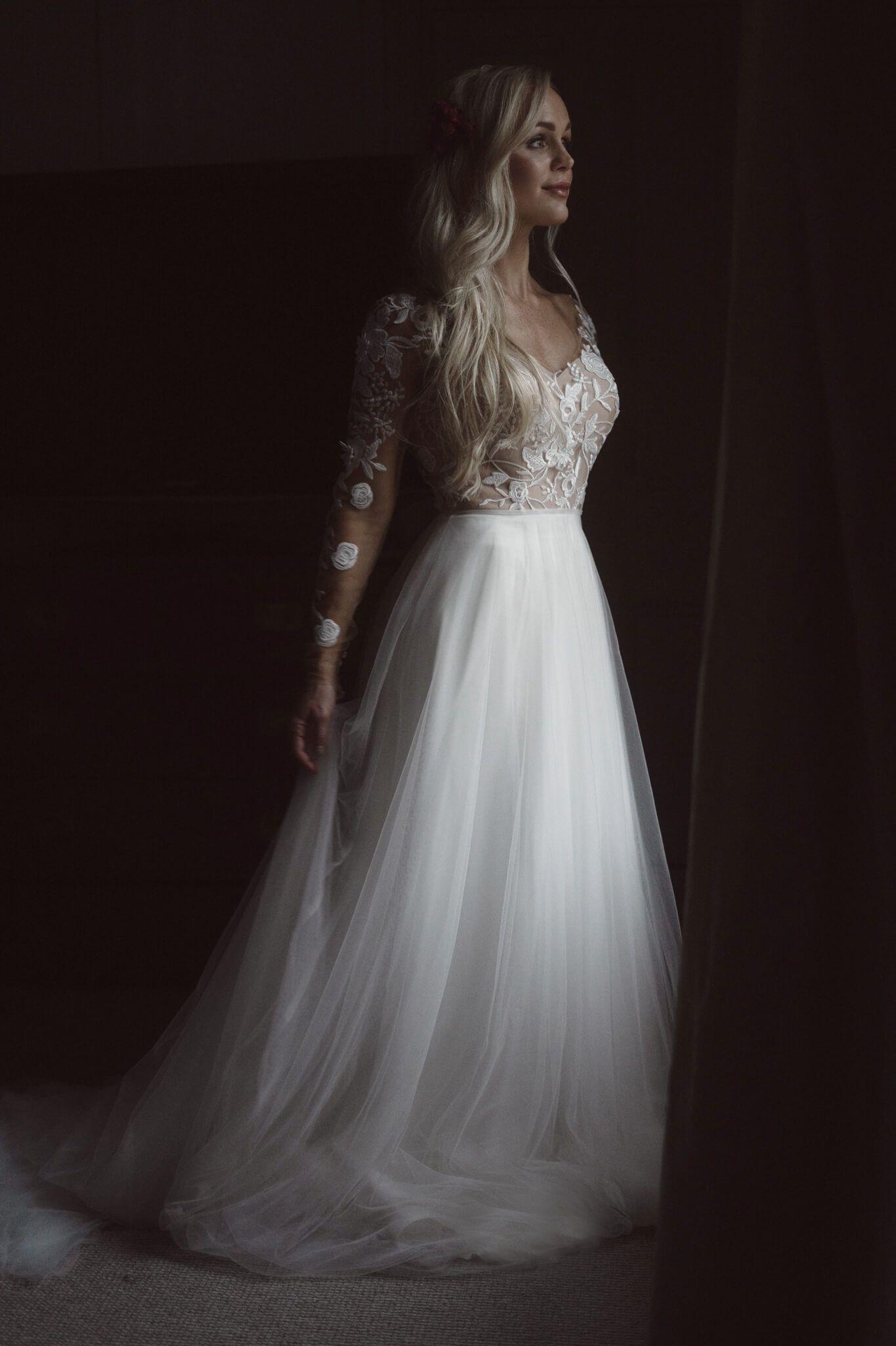 lace wedding dress boho wedding dress wedding dress shop near me bridal shop near me 9 5