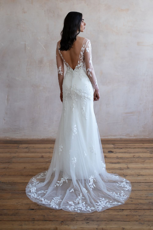Wedding Dresses Lace Lace Wedding Dresses Wedding Dress Lace Lace Wedding Dress Wedding Dresses Long Sleeve Wedding Dress Bridal Shops London 15 3