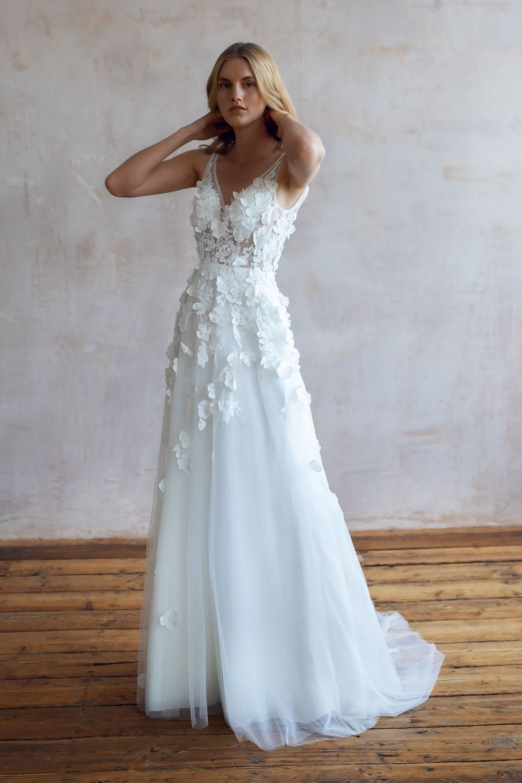 Wedding Dresses Lace Wedding Dresses Long Sleeve Boho Wedding Dresses Wedding Dress Beach Mermaid Wedding Dresses Alterna 1