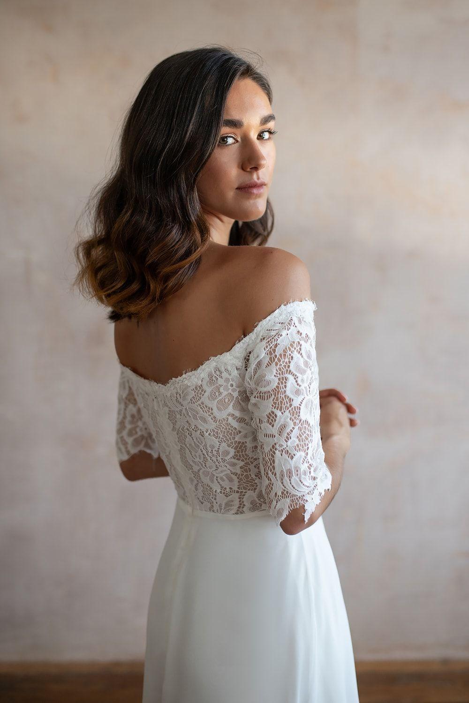 Wedding Dresses Lace Wedding Dresses Long Sleeve Boho Wedding Dresses Wedding Dress Beach Mermaid Wedding Dresses Alterna 20