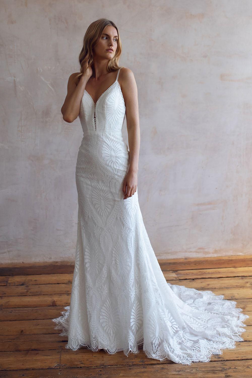 Wedding Dresses Lace Wedding Dresses Long Sleeve Boho Wedding Dresses Wedding Dress Beach Mermaid Wedding Dresses Alterna 25