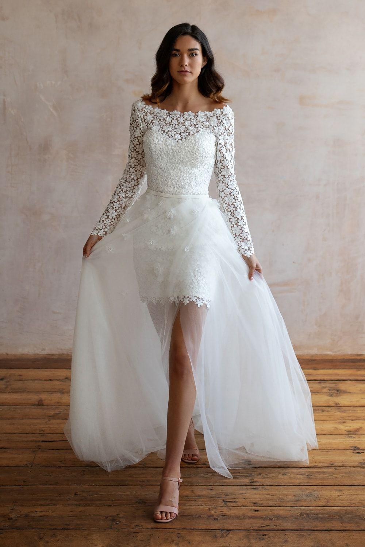 Wedding Dresses Lace Wedding Dresses Long Sleeve Boho Wedding Dresses Wedding Dress Beach Mermaid Wedding Dresses Alterna 34