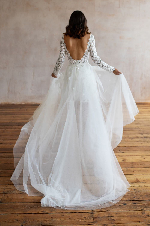 Wedding Dresses Lace Wedding Dresses Long Sleeve Boho Wedding Dresses Wedding Dress Beach Mermaid Wedding Dresses Alterna 35