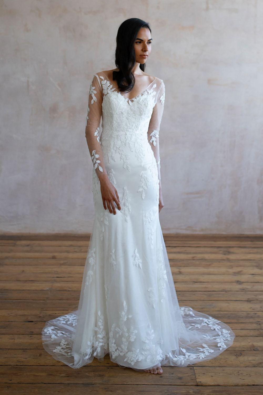 Wedding Dresses Lace Wedding Dresses Long Sleeve Boho Wedding Dresses Wedding Dress Beach Mermaid Wedding Dresses Alterna 36