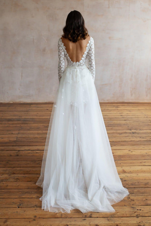 Wedding Dresses Lace Wedding Dresses Long Sleeve Boho Wedding Dresses Wedding Dress Beach Mermaid Wedding Dresses Alterna 37