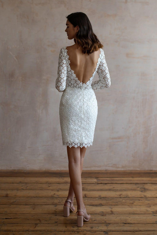 Wedding Dresses Lace Wedding Dresses Long Sleeve Boho Wedding Dresses Wedding Dress Beach Mermaid Wedding Dresses Alterna 40