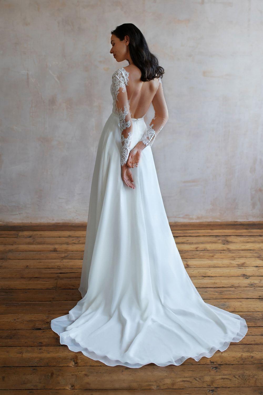 Wedding Dresses Lace Wedding Dresses Long Sleeve Boho Wedding Dresses Wedding Dress Beach Mermaid Wedding Dresses Alterna 49