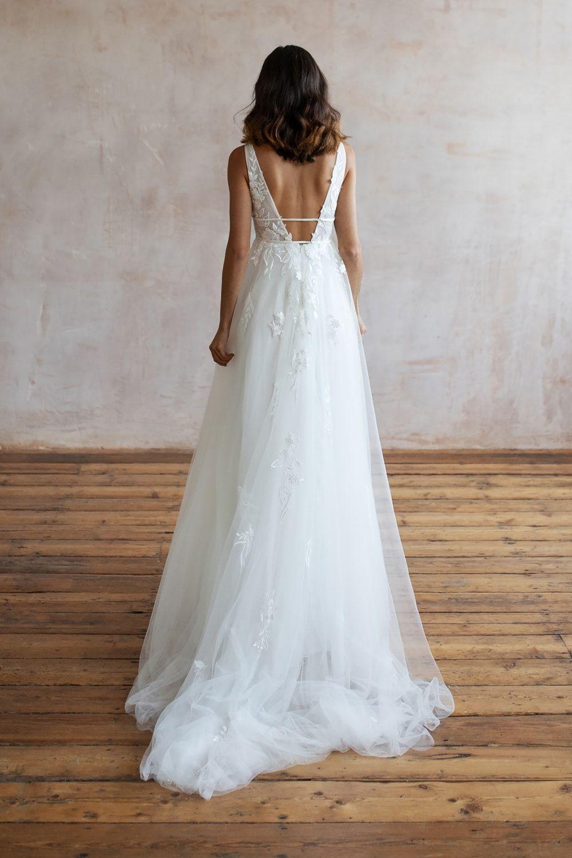 Wedding Dresses Lace Wedding Dresses Long Sleeve Boho Wedding Dresses Wedding Dress Beach Mermaid Wedding Dresses Alterna 6