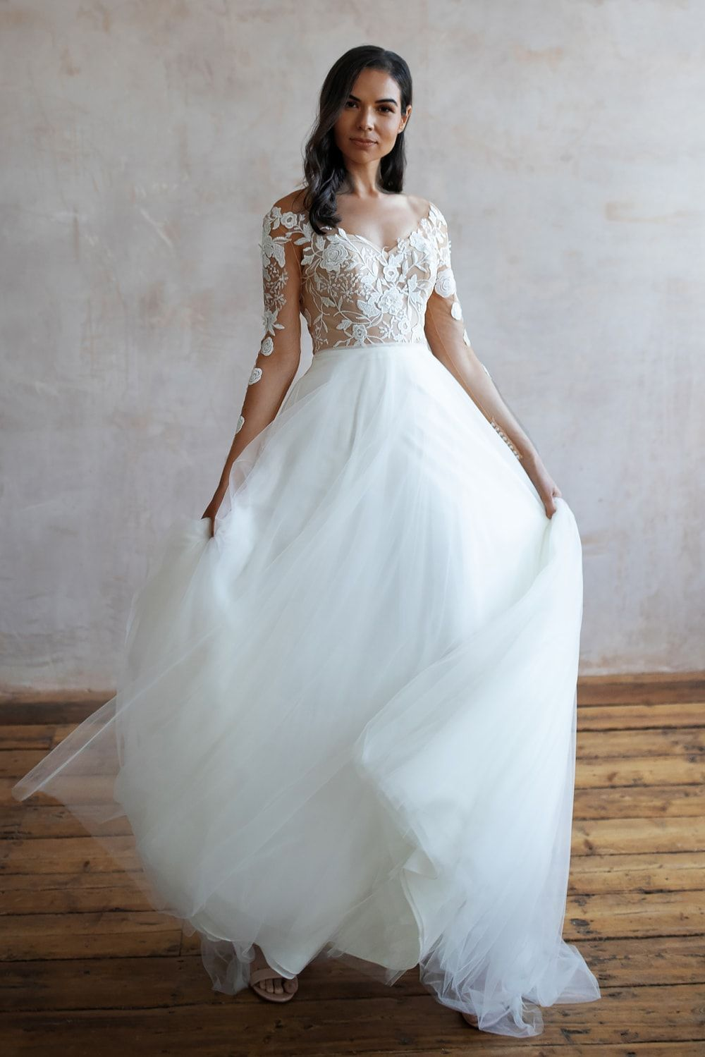Wedding Dresses Lace Wedding Dresses Long Sleeve Boho Wedding Dresses Wedding Dress Beach Mermaid Wedding Dresses Alterna 7 1