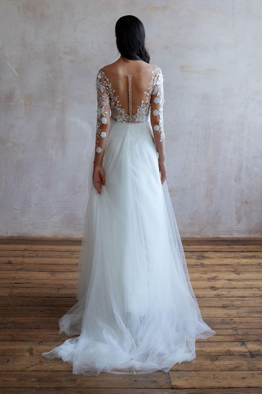 Wedding Dresses Lace Wedding Dresses Long Sleeve Boho Wedding Dresses Wedding Dress Beach Mermaid Wedding Dresses Alterna 9 1